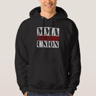 Mixed Martial Arts [MMA] Fighters Union v25, White Pullover