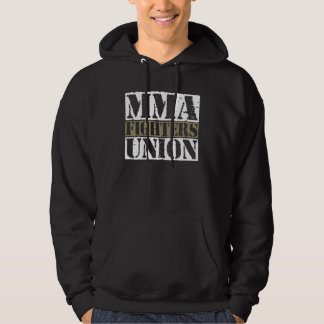 Mixed Martial Arts [MMA] Fighters Union v25, White Sweatshirt