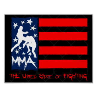 Mixed Martial Arts - United State of Fighting Poster