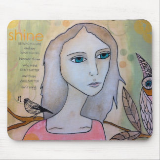 Mixed Media products Mouse Pad