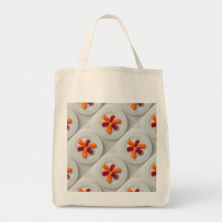 Mixed Peppers Grocery Tote Bag