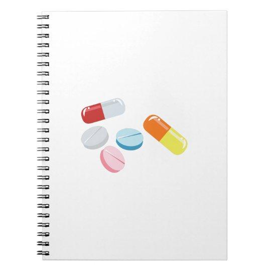 Mixed Pills Notebooks