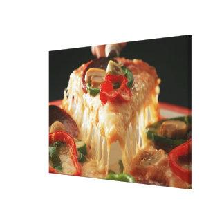 Mixed Pizza Canvas Print
