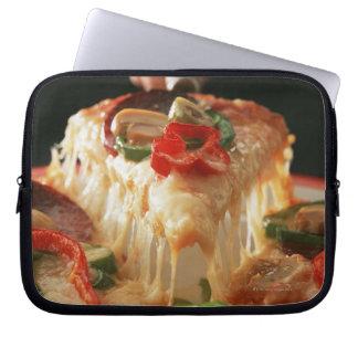 Mixed Pizza Laptop Sleeve
