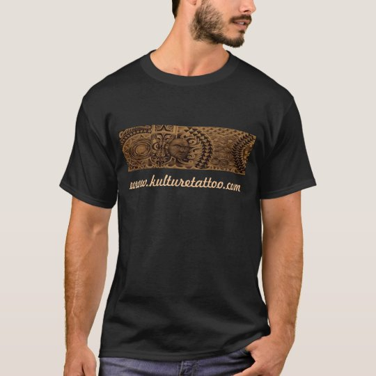 "Mixed-Polyesian ""Kulture Tattoo"" t-shirt"