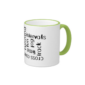 Mixed Run Runner Theme Coffee Mug