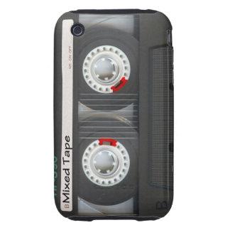 Mixed Tape Cassette Tough iPhone 3 Case