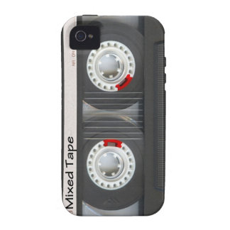 Mixed Tape Cassette iPhone 4 Case