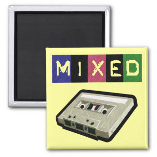 Mixed Tape-Magnet Square Magnet