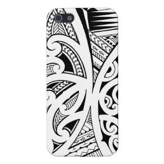 Mixed tattoo styles, Maori, Samoan and Polynesian iPhone 5 Cases