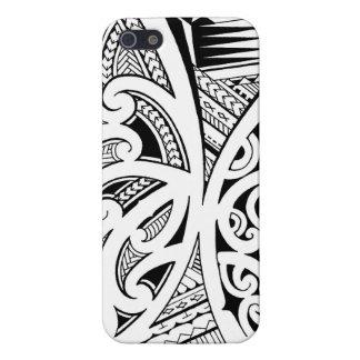 Mixed tattoo styles, Maori, Samoan and Polynesian iPhone 5 Cases
