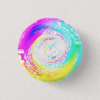 Mixed Up Mosaic 3 Cm Round Badge