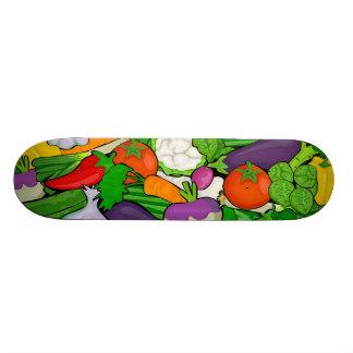 Mixed vegetables II 21.6 Cm Skateboard Deck