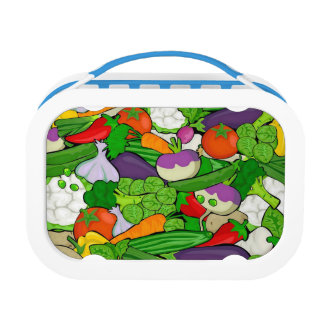 Mixed vegetables lunch box