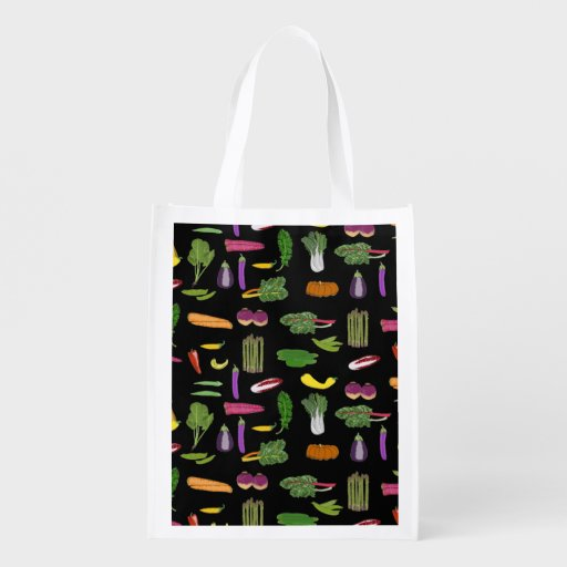 Mixed Veggies Bag for Gardener Vegetarian Vegan Market Tote
