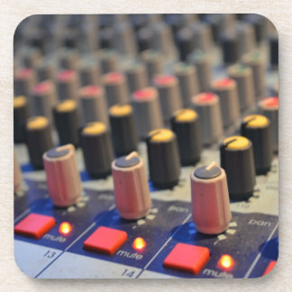 Mixing Board Buttons Coasters