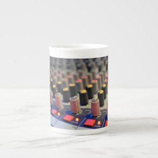 Mixing Board Buttons Bone China Mug