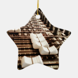 Mixing Board (Photography) Christmas Ornament