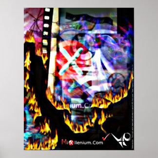 Mixllenium Com - Burning Media Poster