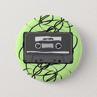Mixtape 6 Cm Round Badge