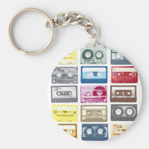Mixtapes Graphic Keychains