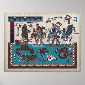 Mixtec Warriors Poster