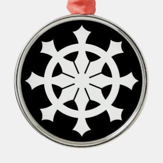 Miyake wheel treasure _ammunition box Silver-Colored round decoration
