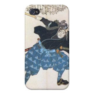 Miyamoto Musashi Painting c. 1800's Case For iPhone 4