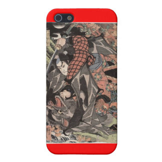 Miyamoto Musashi Painting c. 1800's iPhone 5 Cover
