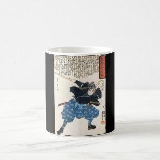 Miyamoto Musashi Painting c. 1800's Classic White Coffee Mug