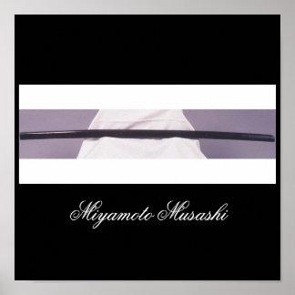 Miyamoto Musashi s Wooden Sword Posters