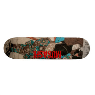 Miyamoto  Musashi Skateboard Deck