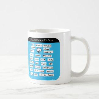 MJ1435 libra starsign zodiac Coffee Mug