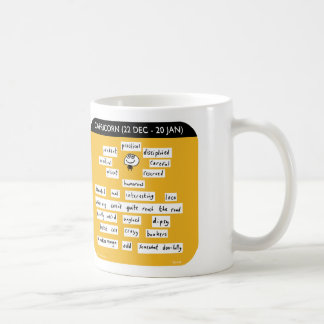 MJ1445 mahoney joe, capricorn, starsign, zodiac Coffee Mug