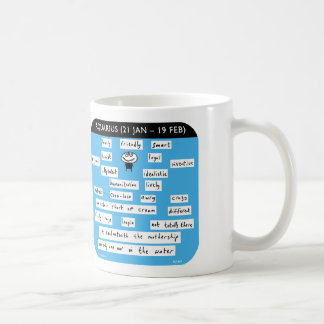 MJ1447, mahoney, joe, aquarius, zodiac, starsign Coffee Mug