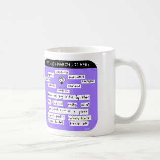 "MJ1449 ""mahoney joe"" aries zodiac starsign Coffee Mug"