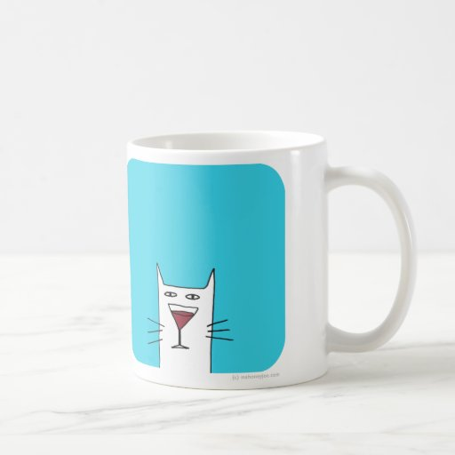 Glass Cat Mug Uk