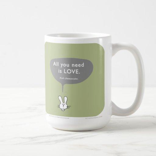MJ1557 love cheesecake Coffee Mug