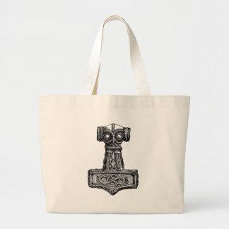 Mjolnir: Thor's Hammer Large Tote Bag