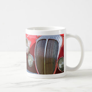 MK.2 JAG  RED COFFEE MUG