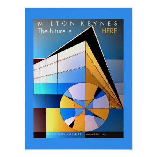 MK The future is here poster art