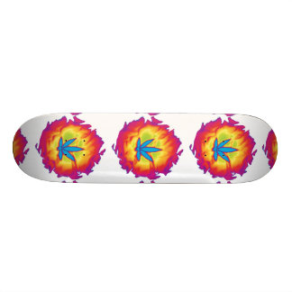 MKFMJ Marijuana Leaf Custom Skateboard
