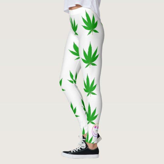 MKFMJ Marijuana Leaf's Leggings