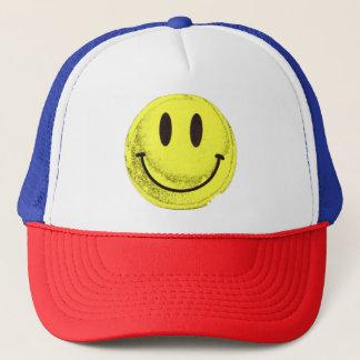 MKFMJ Smile Face Trucker Hat