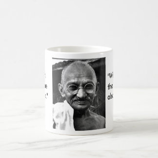 MKGandhi Basic White Mug
