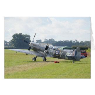 MkIX Spitfire At Rest Card