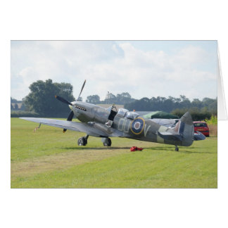 MkIX Spitfire At Rest Greeting Card