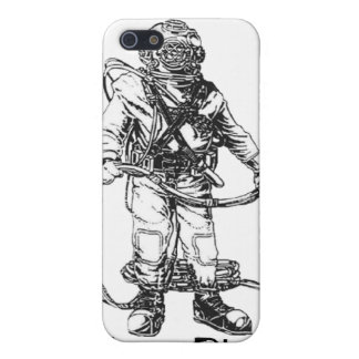 MKV Diver- Customizable Text iPhone 5/5S Cover
