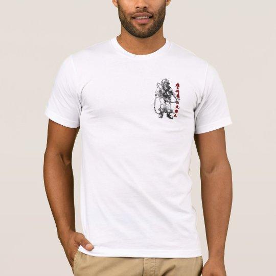 MKV Diver with Asian Script, Logo on back T-Shirt