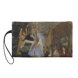 Mlle Fiocre in Ballet La Source by Edgar Degas Wristlet Purses